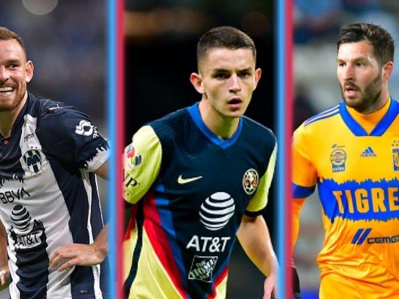 Europeos Liga MX en el Grita México A21