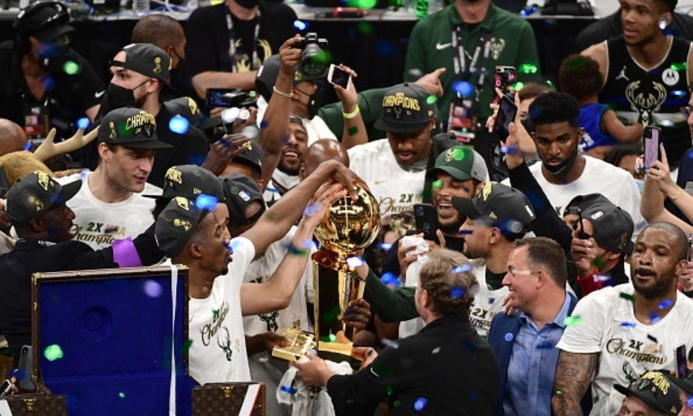 Milwaukee Bucks campeón de la NBA Temporada 2020 21