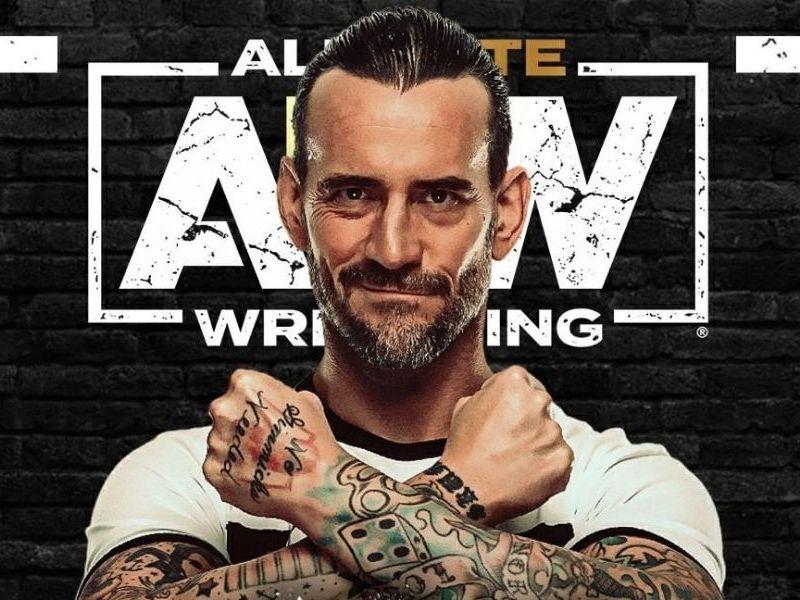 CM Punk firmó con AEW