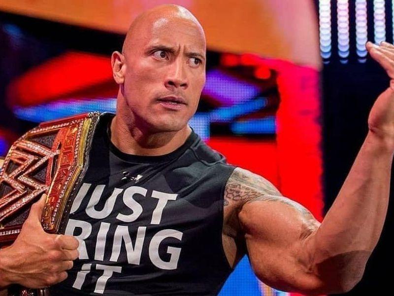 The Rock en WWE