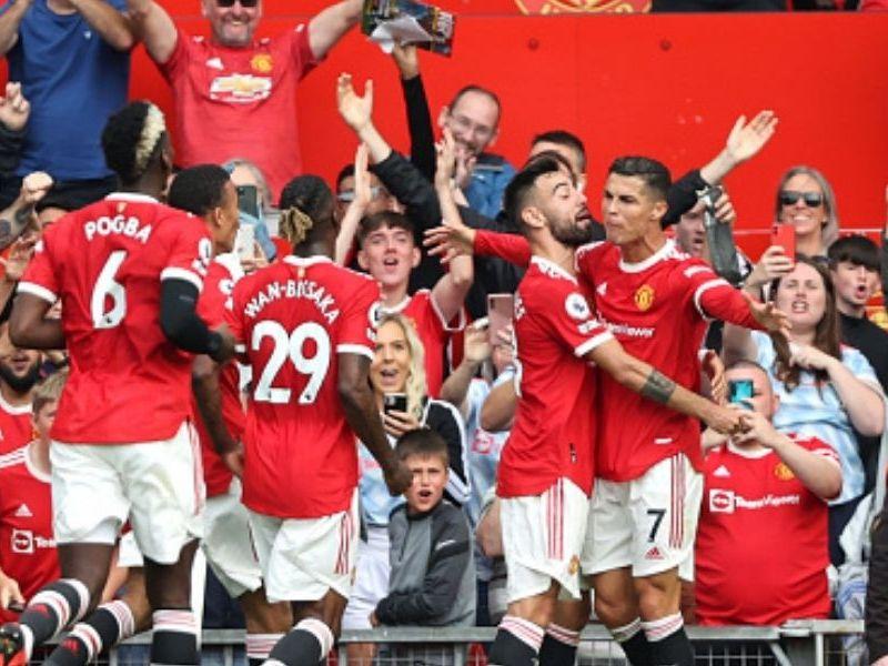 Manchester United goleó Newcastle