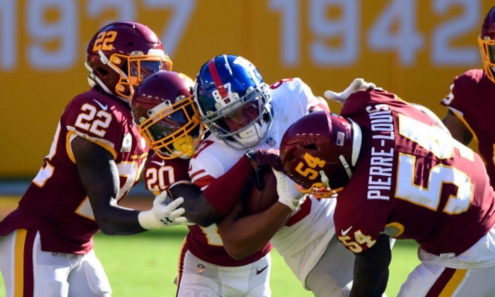 en vivo Washington Football Team vs Giants