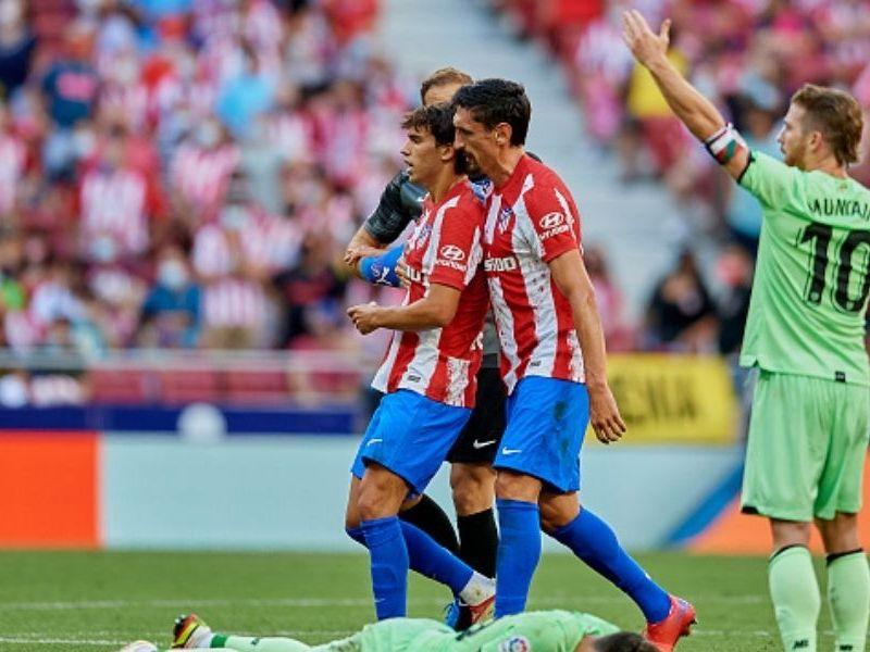 Atlético de Madrid y Athletic de Bilbao empataron