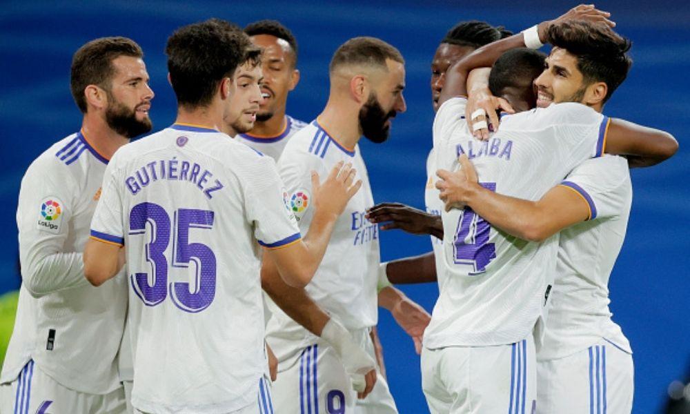 Real Madrid goleó al Mallorca