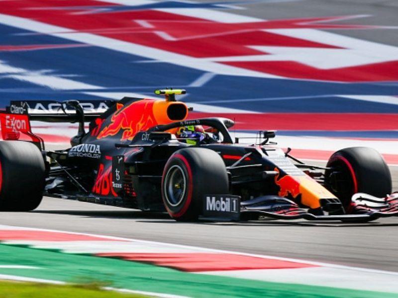 Checo Pérez largará tercero en GP de Estados Unidos