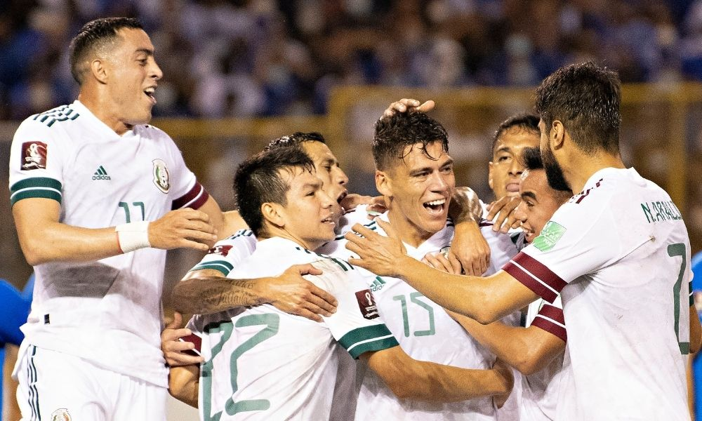 México venció a El Salvador