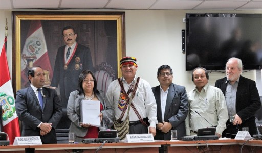 Notificamos al Estado Peruano sobre nuestro Gobierno Territorial Autónomo