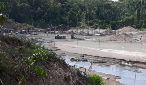 COMUNICADO: La Nación Wampís sobre ataques de mineros ilegales en Puerto Galilea