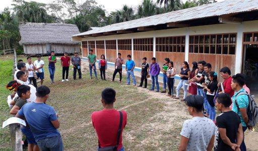 Jóvenes de la Nación Wampis participan del III Curso de la Escuela de Líderes y Liderezas Sharian