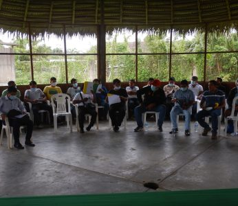 Autoridades de Nación Wampis y representantes de ARA – Amazonas, plantearon acciones para la gestión, manejo y conservación de recursos forestales en la cuenca de río Santiago