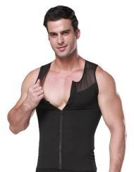 Body Shaper bröstkompressionsväst, Shapewear för män