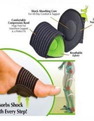 Flat Foot Arch Support Ortopediska innersulor - Plattfotsula
