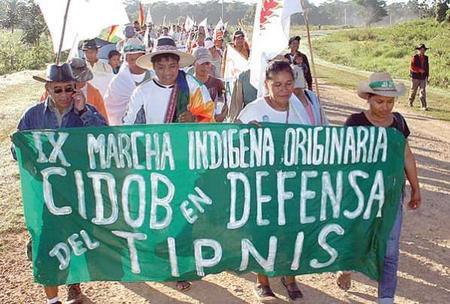 Image result for TIPNIS dispute