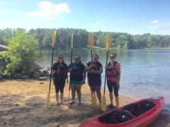 Kayaking 2 June 2016