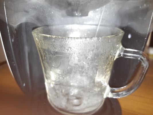 バリスタアイお湯
