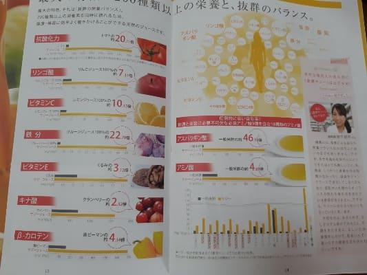 豊潤サジーの栄養素の写真