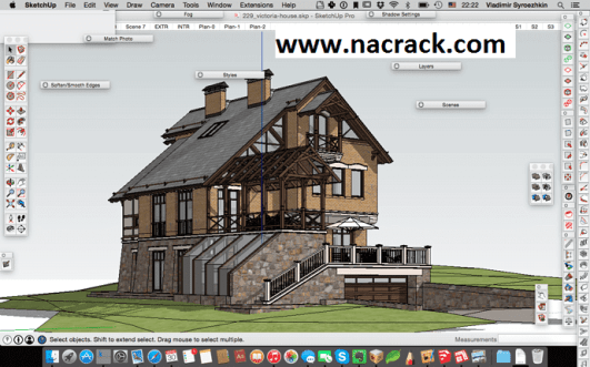 SketchUp Pro 2021 (Crack) Latest Version Free Download With Serial Key [Updated]