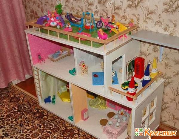 Dollhouse pro Barbie