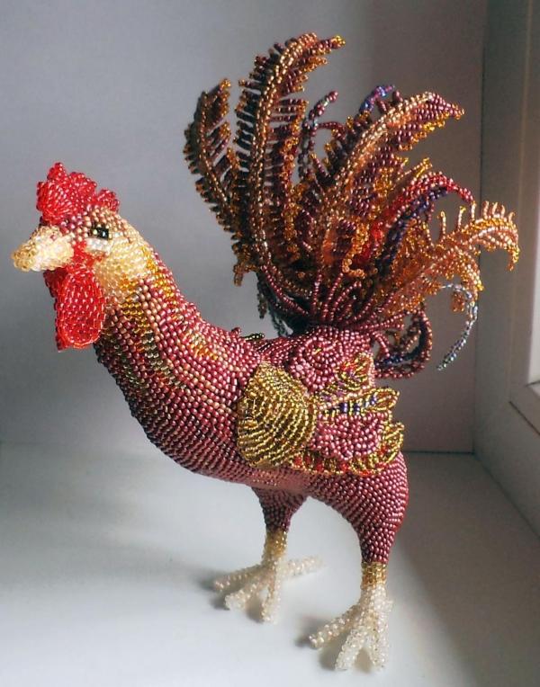 Rooster bergaya manik