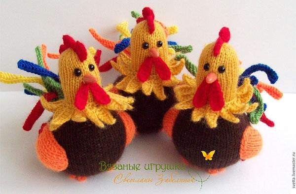Kelas Master Rooster Crochet