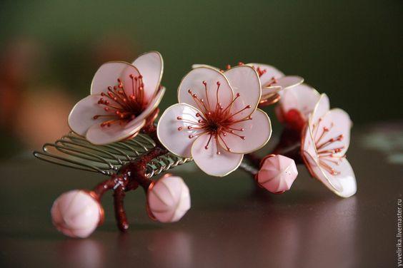Sò điệp với hoa tinh tế
