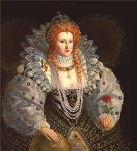 Elizabeth királynő a fojtóba