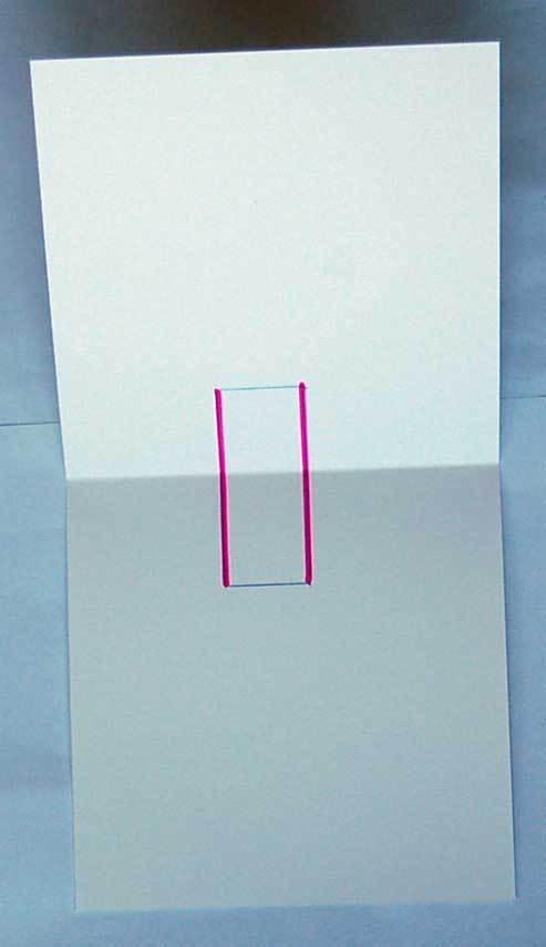Открытка как сделать сгиб, онлайн фотографией креативные