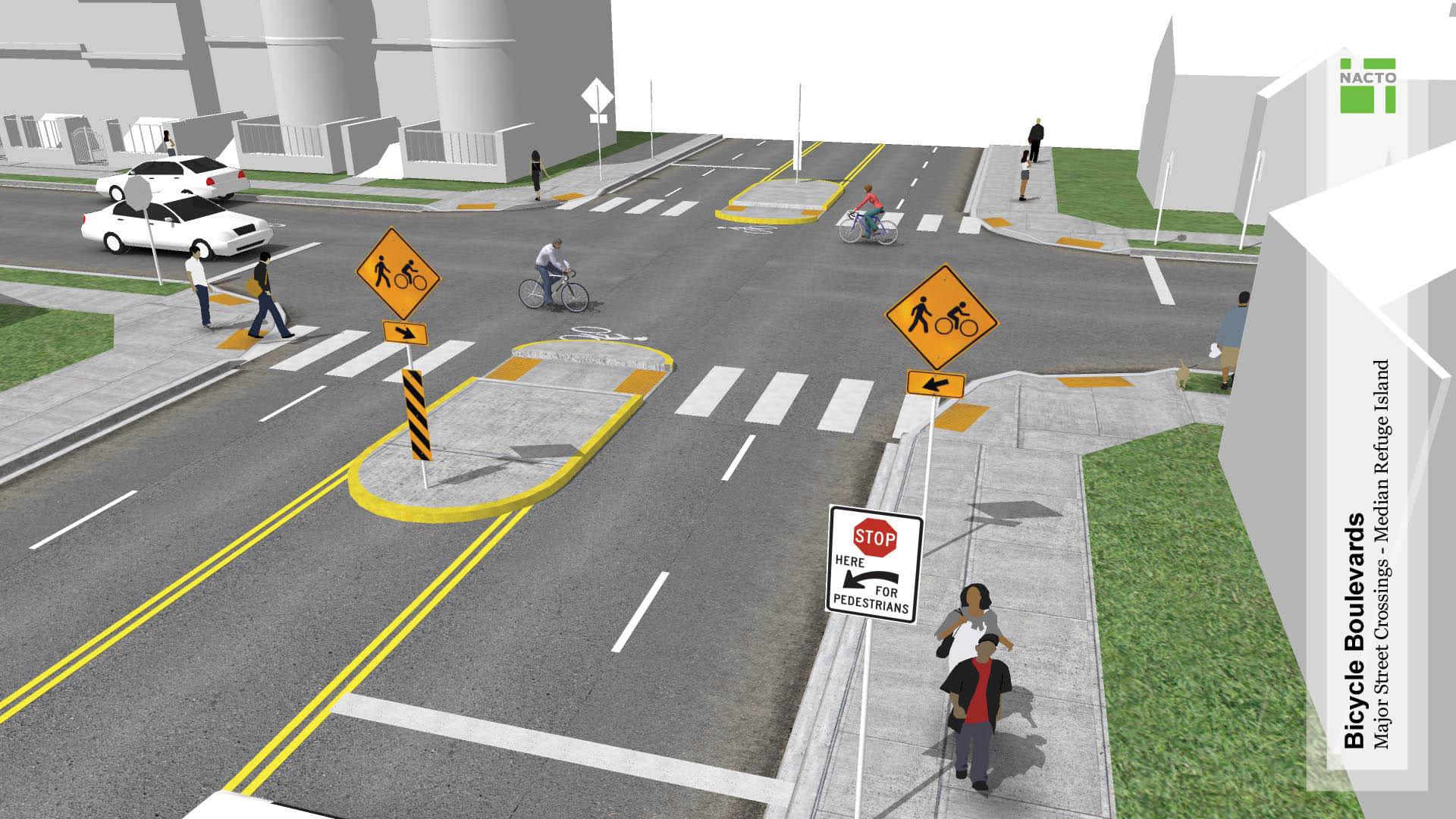 Major Street Crossings