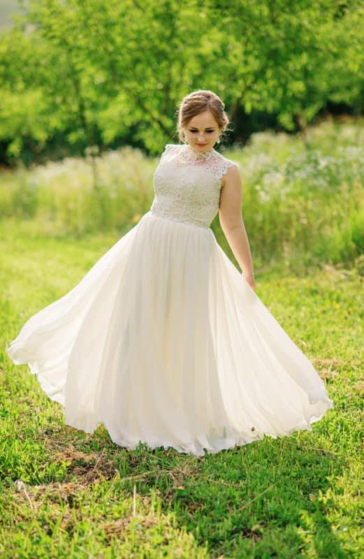 vestido de noiva plus size 4