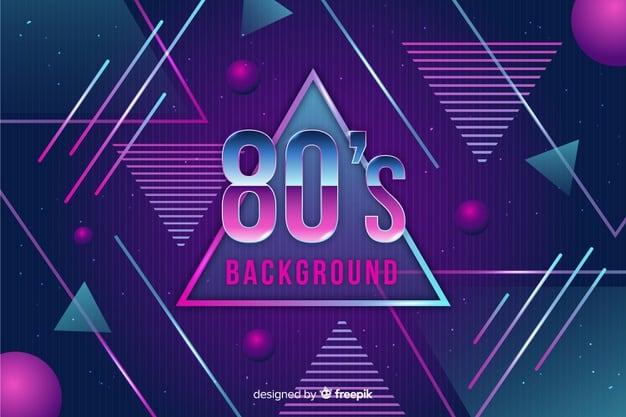 Moda Anos 80 1