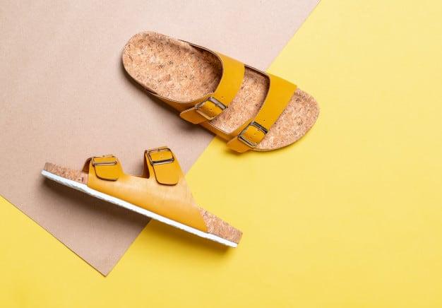 Sandália rasteira