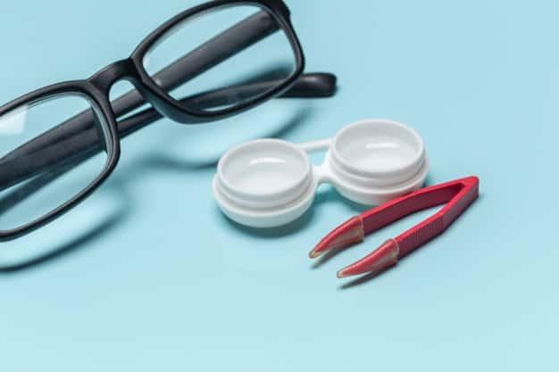 óculos ou lente