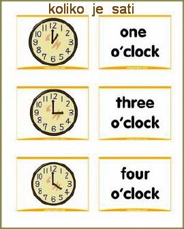 koliko je sati