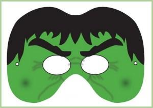 Monstrum - boja - dečja maska