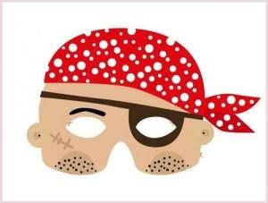 pirat - dečija maska