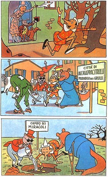 Italia Fallita bugie Pinocchio