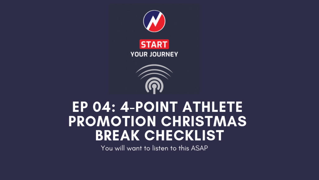 Christmas Break Athlete Promotion