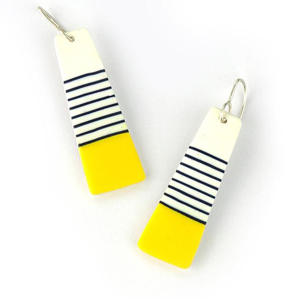 BRETON long earrings by nadege Honey