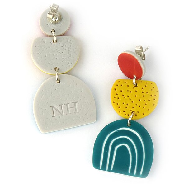 DOODLE contemporary earrings