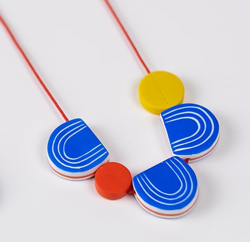 mid century necklace by Nadege Honey