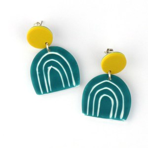 Funky colourful jewellery nadege honey