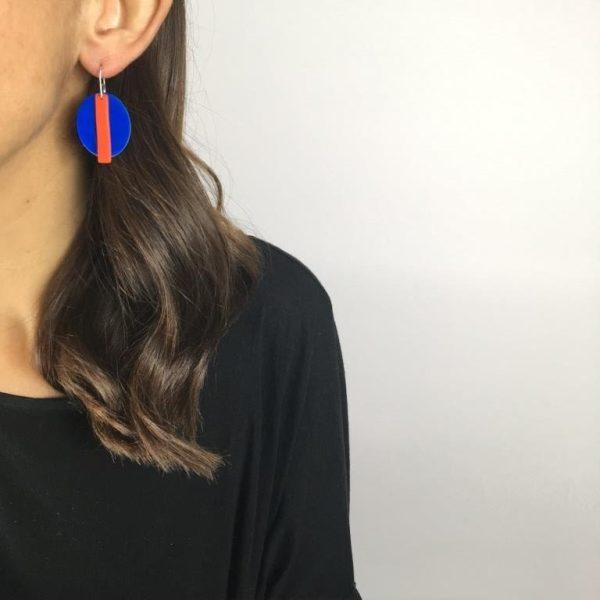 contemporary earrings by nadege honey