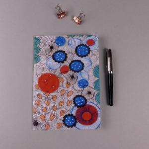 Notebook Floral Blue