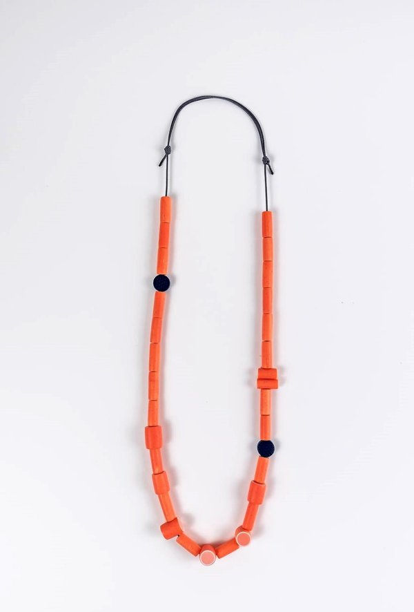 Coral necklace by Nadege Honey