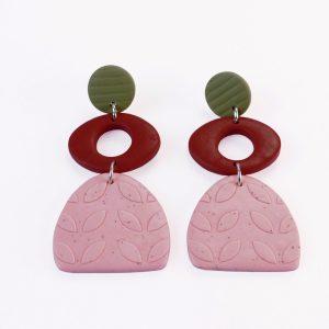 Botanica clay earrings by Nadege Honey