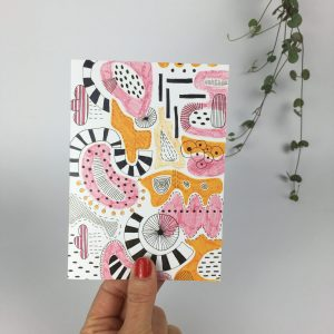 contemporary greeting card by nadege honey