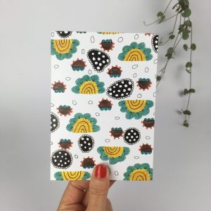 A cheerful and colourful greeting card to brighten your day