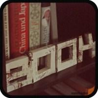 3D paper letters