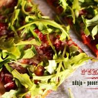 Hot like the Calabrian sun - Pizza with nduja, pecorino and rocket