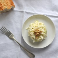 Underneath the surface - Celeriac apple slaw